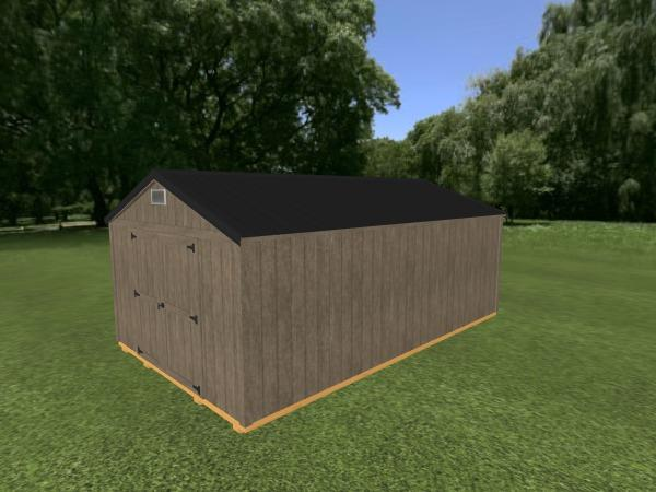 Utility Shed: 12' x 20'