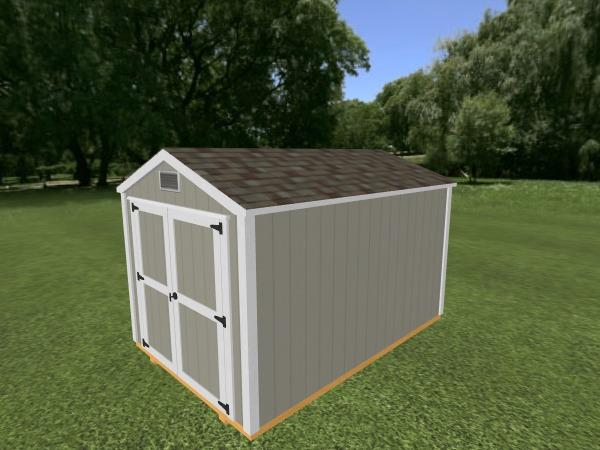 Utility Shed: 8' x 12'