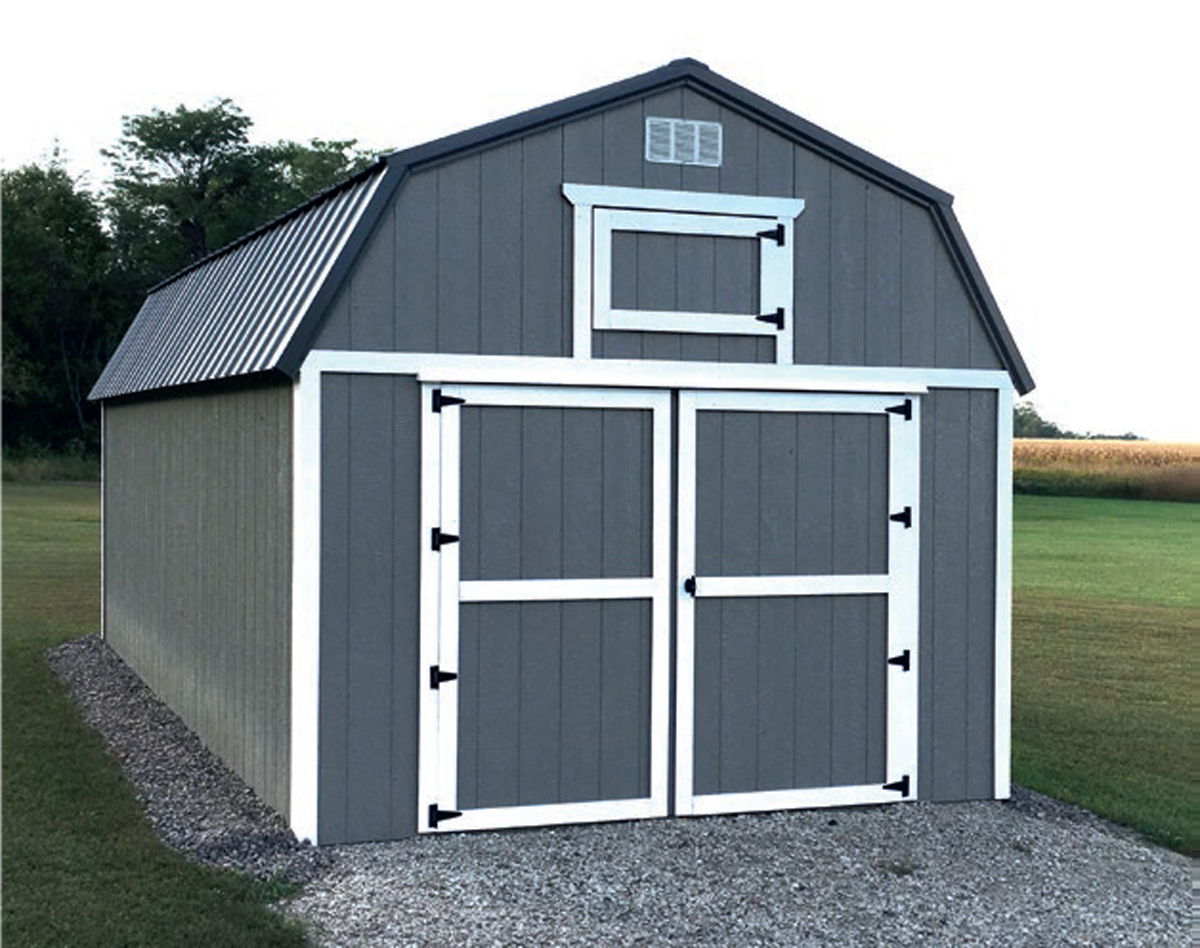 Custom Gray and White Paint & Charcoal Metal