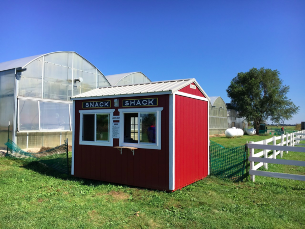 Creative Shed ideas - snack shack