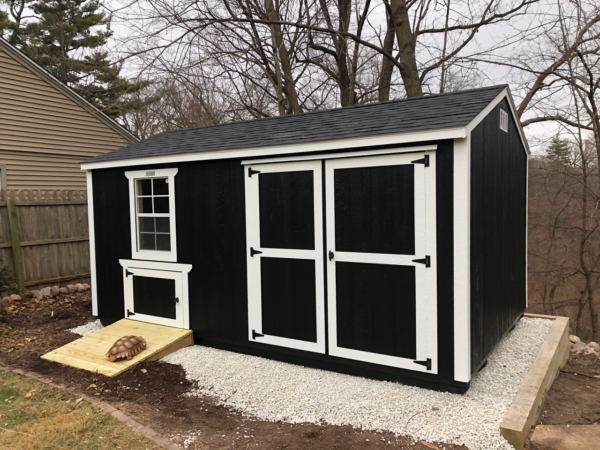 Creative Shed ideas - turtle shed
