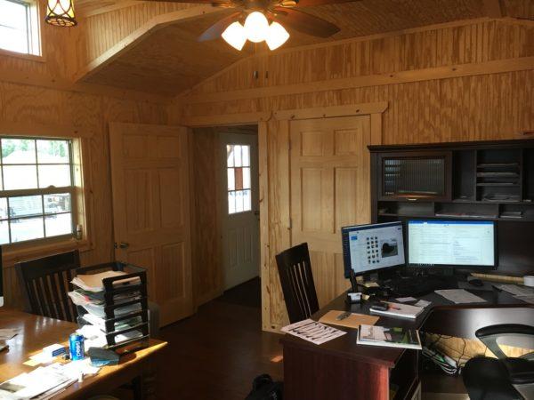 prefab wood building