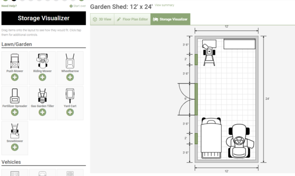 backyard shed designs - storage visualizer