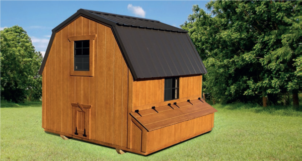 outdoor buildings - chicken coop