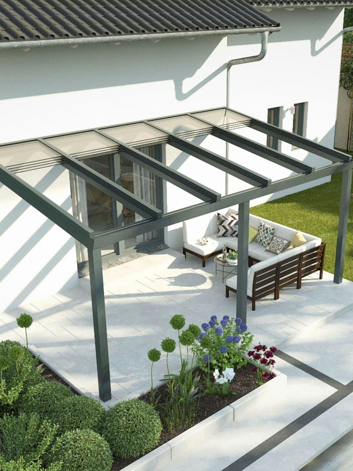 pergola ideas - sliding roof